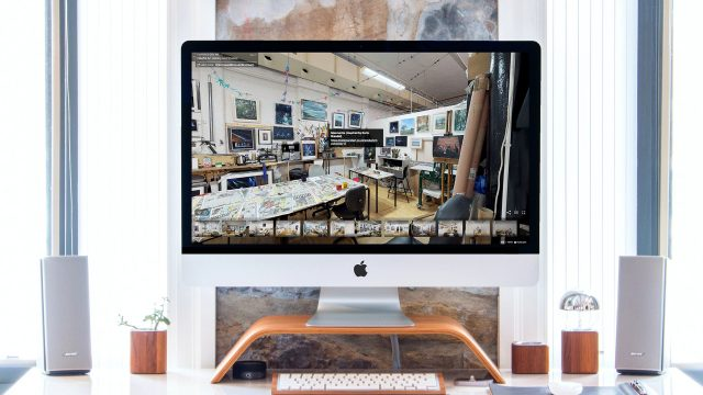 Art Gallery Studio Matterport Virtual Tours