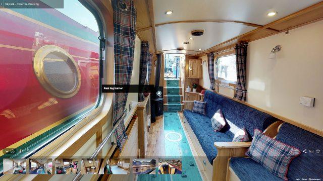 Boat Matterport Virtual Tours Manchester 2