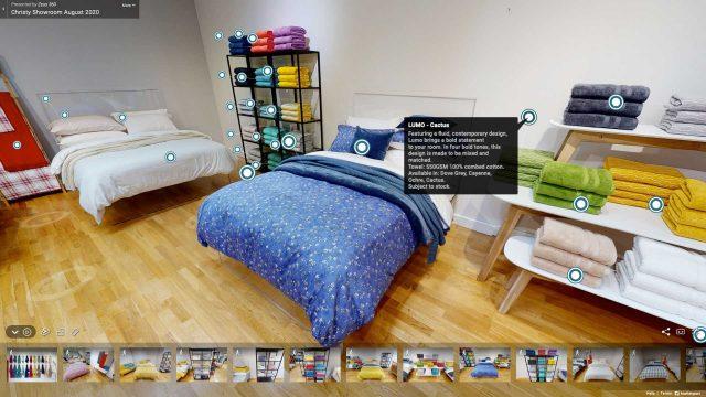 Showroom Matterport 3d Virtual Tours Manchester Bedding